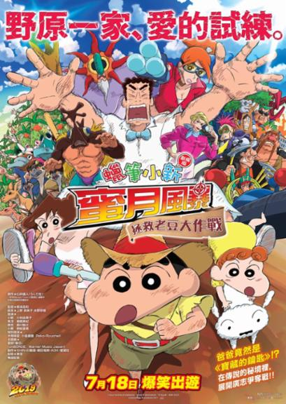Crayon Shinchan Movie 2019