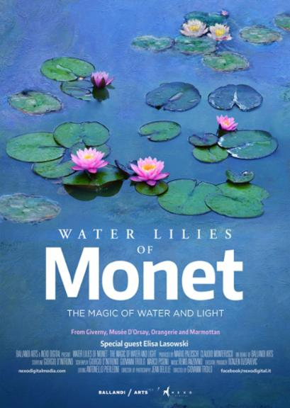 Water Lilies of Monet-The Magic of Water and Light